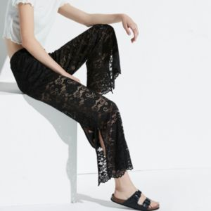 k/lab Lace Flare Leg Pants